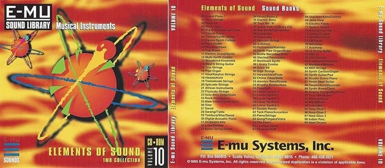E-MU - Classic Series Vol. 10 - Elements Of Sound 1MB