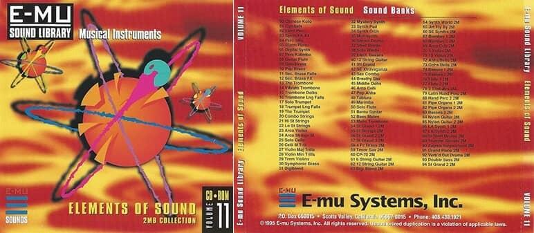 E-MU - Classic Series Vol. 11 - Elements Of Sound 2MB
