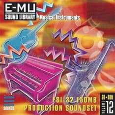 E-MU - Classic Series Vol. 12 - ESI-32 150MB Production Soundset