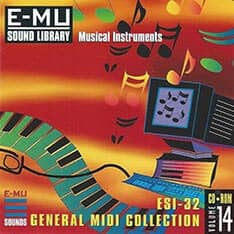 E-MU - Classic Series Vol. 14 - ESI-32 General MIDI Collection