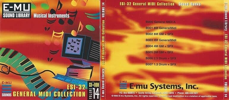 E-MU - Classic Series Vol. 14 - ESI-32 General MIDI Collection