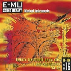 E-MU - Classic Series Vol. 16 - 26 Studio Drum Kits And Percussion