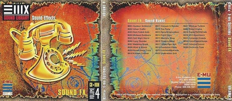 E-MU - Classic Series Vol. 04 - Sound FX