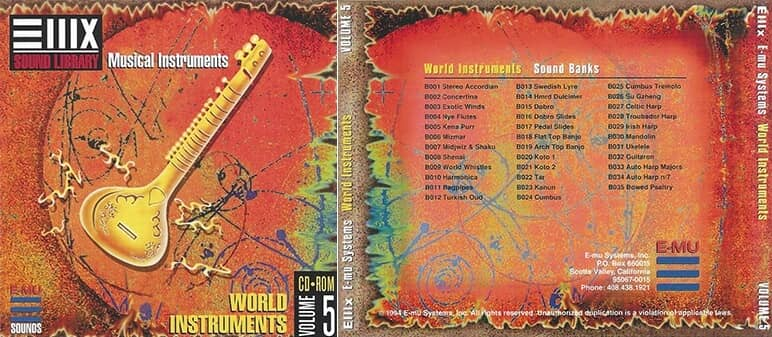 E-MU - Classic Series Vol. 05 - World Instruments