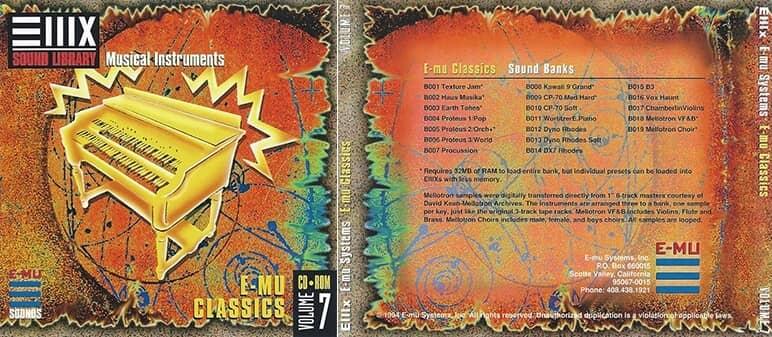 E-MU - Classic Series Vol. 07 - E-MU Classics