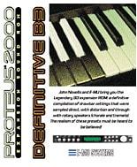 E-MU Definitive B-3 Sound ROM