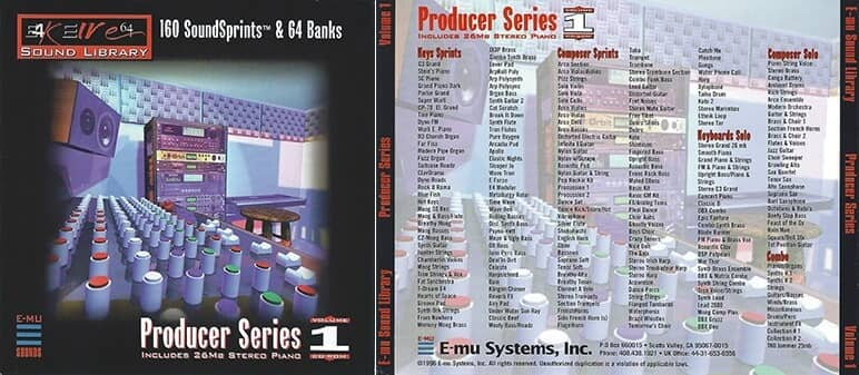 E-MU - Producer Series Vol. 1