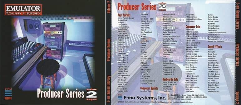 E-MU - Producer Series Vol. 2