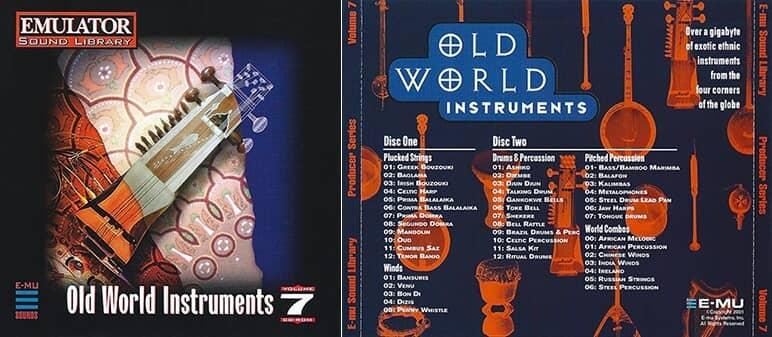E-MU - Producer Series Vol. 7 - Old World Instruments