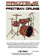 E-MU Protean Drums Expansion ROM