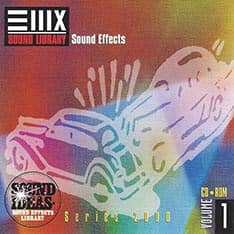 E-MU - Series 2000 Sound Ideas Sound Effect Vol. 1