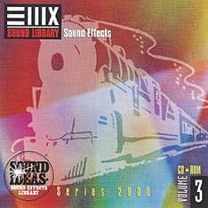 E-MU - Series 2000 Sound Ideas Sound Effect Vol. 3