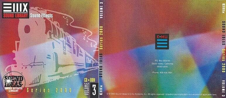 E-MU - Series 2000 Sound Ideas Sound Effect Vol. 3