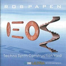 Rob Papen Techno Synth Construction Yard CD-ROM