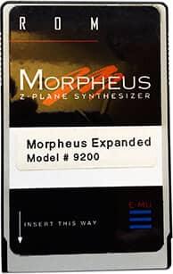 E-MU Morpheus Expanded ROM Card