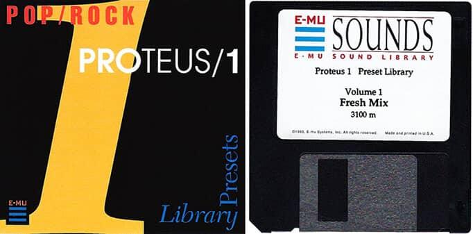 E-MU Proteus 1 Preset Library Vol. 1 Fresh Mix