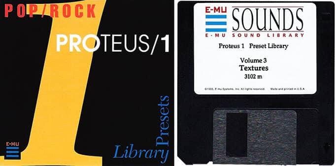 E-MU Proteus 1 Preset Library Vol. 3 Textures