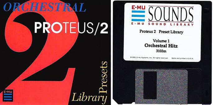 E-MU Proteus 2 Preset Library Vol. 1 Orchestral Hitz