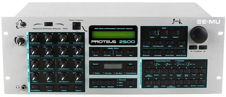 E-MU Proteus 2500 Command Station