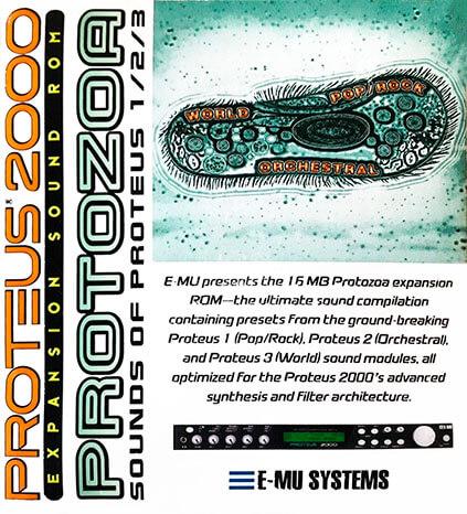 E-MU Protozoa Expansion ROM