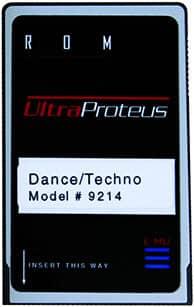 E-MU UltraProteus Dance/Techno ROM Card