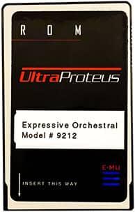 E-MU UltraProteus Expressive Orchestral ROM Card