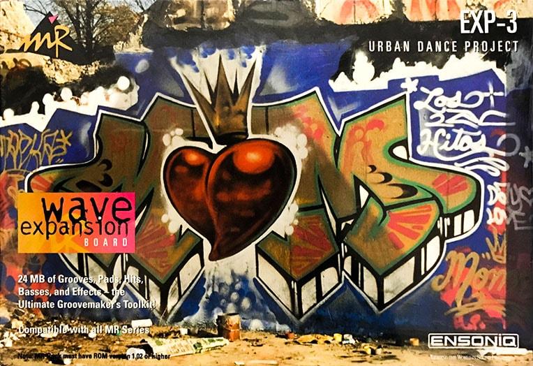 Ensoniq EXP-3 Urban Dance Project Expansion Board